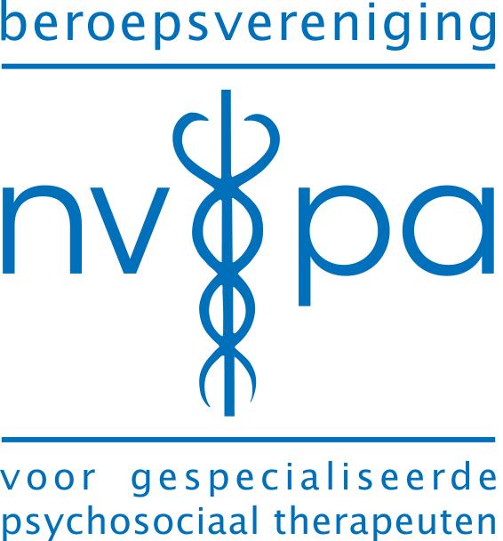 logo van het nvpa, vereniging van gespecialiseerde psychosociaal therapeuten